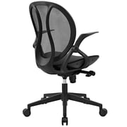Latitude Run Conduct Vinyl 21.5'' Mesh Desk Chair; Gray