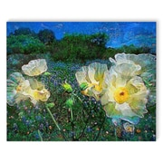Red Barrel Studio 'Wildflowers' Painting Print on Canvas; 24'' H x 36'' W x 2'' D
