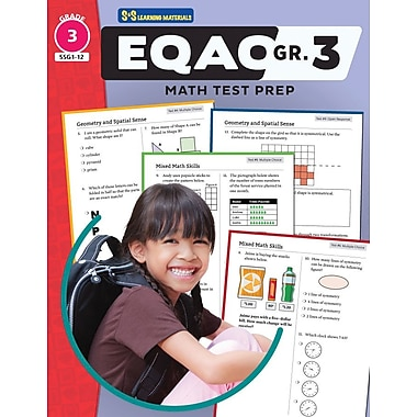 On The Mark Press EQAO Grade 3 Math Test Prep Teacher Guide
