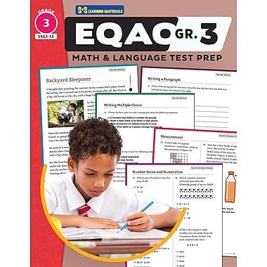On The Mark Press EQAO Grade 3 Test Prep, Both Math & Language Teacher Guide