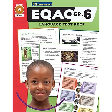 On The Mark Press EQAO Grade 6 Language Test Prep Teacher Guide