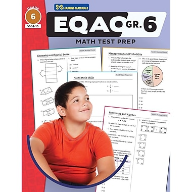 On The Mark Press EQAO Grade 6 Math Test Prep Teacher Guide