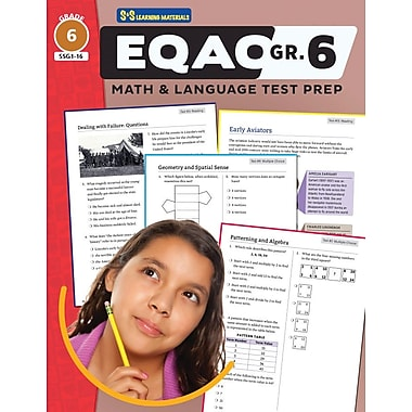 On The Mark Press EQAO Grade 6 Test Prep, Both Math & Language Teacher Guide