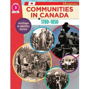 On The Mark Press Communities in Canada 1780-1850, Grade 3 Heritage & Identity Series