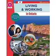On The Mark Press Living & Working in Ontario, Grade 3 People & Environments Series