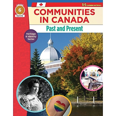 On The Mark Press Communities in Canada, Past & Present, Grade 6 Heritage & Identity Series