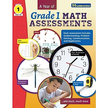 On The Mark Press A Year of Grade 1 Math Assessments