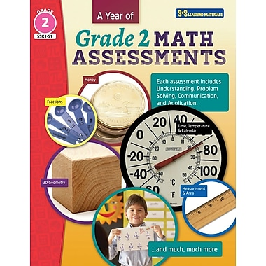 On The Mark Press A Year of Grade 2 Math Assessments