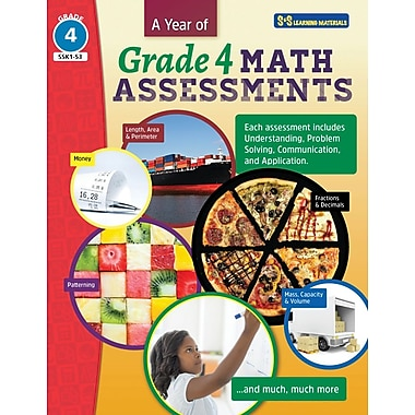 On The Mark Press A Year of Grade 4 Math Assessments