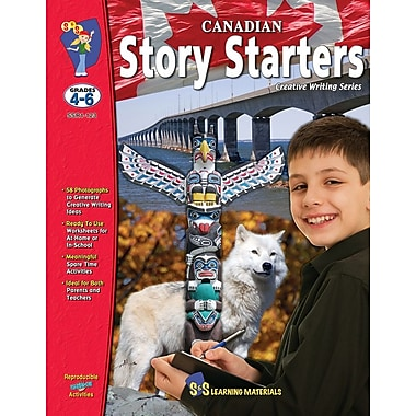 On The Mark Press Canadian Story Starters, Grade 4-6