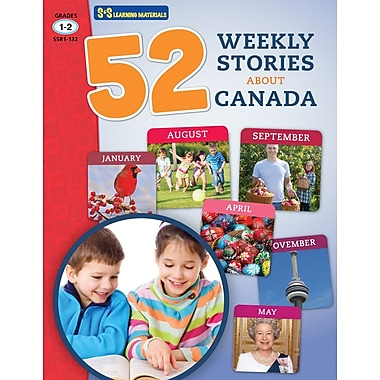 On The Mark Press 52 Weekly Stories About Canada, Grade 1-2