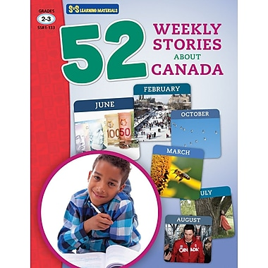 On The Mark Press 52 Weekly Stories About Canada, Grade 2-3