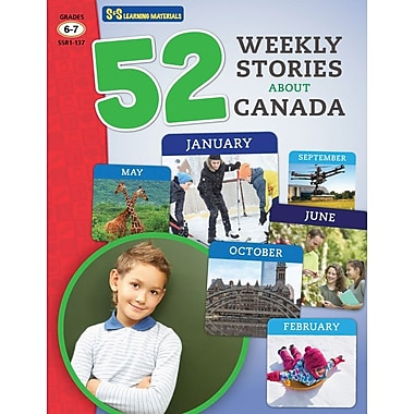 On The Mark Press 52 Weekly Stories About Canada, Grade 6-7