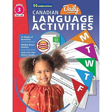 On The Mark Press Canadian Daily Language Activities