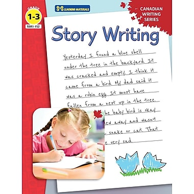 On The Mark Press Canadian Story Writing, Grade 1-3