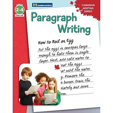 On The Mark Press Canadian Paragraph Writing, Grade 2-4