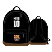 "Lionel Messi Barcelona Backpack, 17"", Black"
