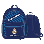 "Real Madrid Backpack, 17"", Blue"