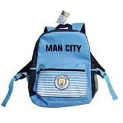 "Manchester City Backpack, 17"", Light Blue"