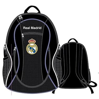 Sac à dos pour ballon du Real Madrid, 20 po, noir