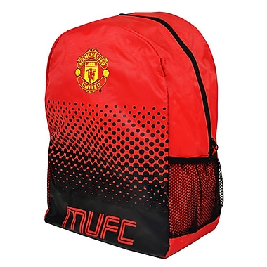 Sac à dos Manchester United, 17 po, rouge