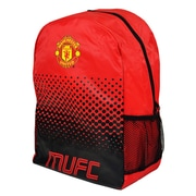 "Manchester United Backpack, 17"", Red"