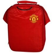 "Manchester United Insulated Lunch Bag, 12"", Red"