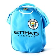 "Manchester City Insulated Lunch Bag, 12"", Light Blue"