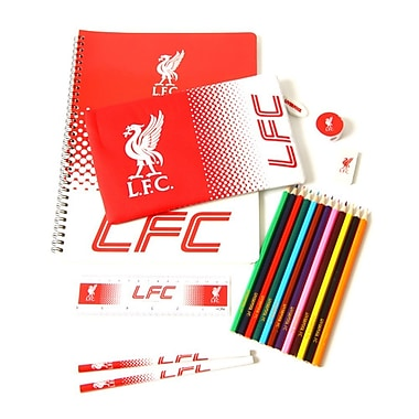 Liverpool Ultimate Stationary Set, 19-Piece Set
