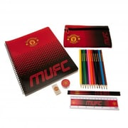 Manchester United Ultimate Stationary Set, 19-Piece Set