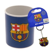 Barcelona Mug and Keychain Set, 2-Piece Set, Blue