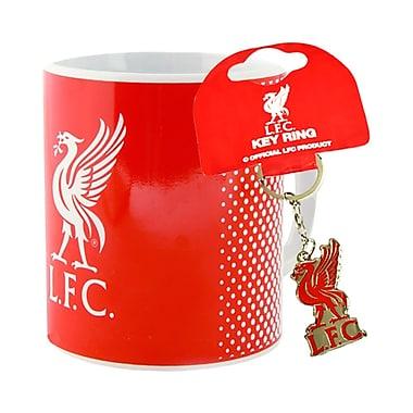 Liverpool F.C. – Tasse et porte-clés, ensemble 2 pièces, rouge