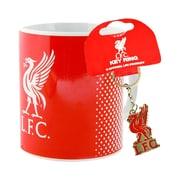 Liverpool Mug and Keychain Set, 2-Piece Set, Red