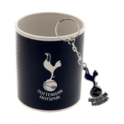 Tottenham Mug and Keychain Set, 2-Piece Set, Blue