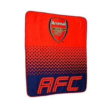Arsenal Fleece Blanket, 1.5 x 1.25m, Red