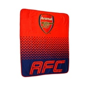 Arsenal Fleece Blanket, 1.5 x 1.25m, Red