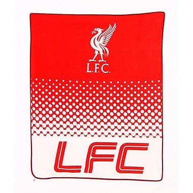 Liverpool Fleece Blanket, 1.5 x 1.25m, Red