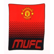 Manchester United Fleece Blanket, 1.5 x 1.25m, Red