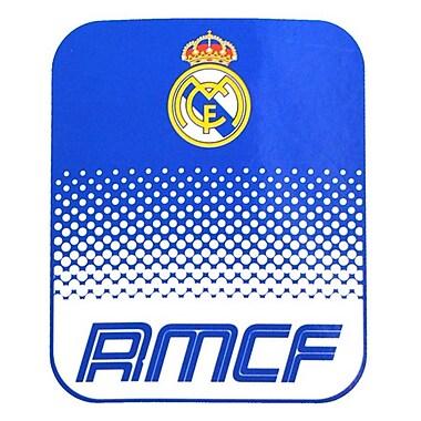 Real Madrid Fleece Blanket, 1.5 x 1.25m, Blue