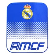 Real Madrid Fleece Blanket, 1.5 x 1.25m, Blue