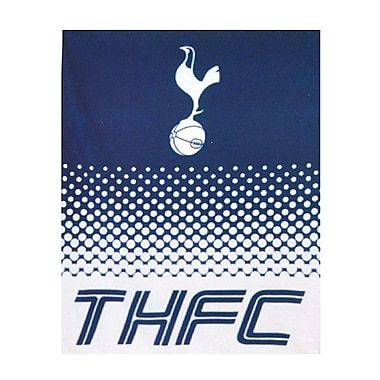 Tottenham Fleece Blanket, 1.5 x 1.25m, Blue