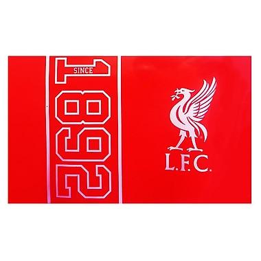 Drapeau du Liverpool, 3 x 5 pi, rouge