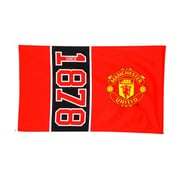 Manchester United Flag, 3 x 5 ft, Red
