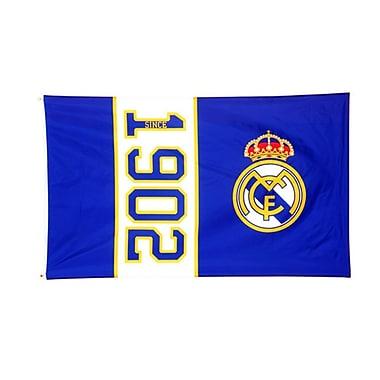 Drapeau du Real Madrid, 3 x 5 pi, bleu