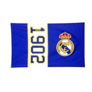 Real Madrid Flag, 3 x 5ft, Blue