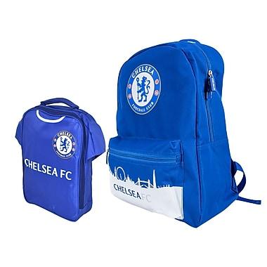 Chelsea Backpack and Lunch Bag Set, 2-Piece Set, Blue
