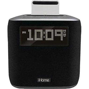 iHome – Réveil/radio FM avec socle Lightning, gris (iPL24GC)