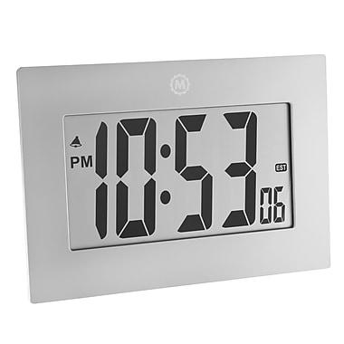 Marathon - Grande horloge numérique, chiffres de 3,25 po, gris graphite (CL030064GG)