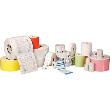"""Zebra Z-Perform 2000D Direct Thermal Label, 6"""" x 4"""", White, 430 Labels/Roll, 6 Rolls/Box (10010034)"""