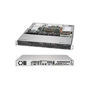 Supermicro SuperServer 5019S-M Barebone System, 1U Rack-mountable, Intel C236 Chipset, Socket H4 LGA-1151, Black